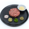 Traditional Wagyu steak tartare