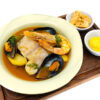 Classic Bouillabaisse with Rouille and Croutons