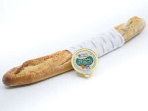 Baguette and French butter