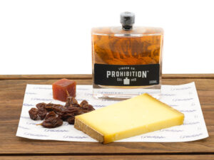 Gin and Comte cheese gift pack