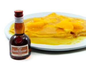 Crepes Suzette for two